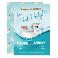 pool party invites