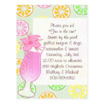 Pool Party, Fun in the sun invitation Postcard