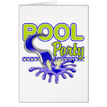 Pool Party Greeting Cards