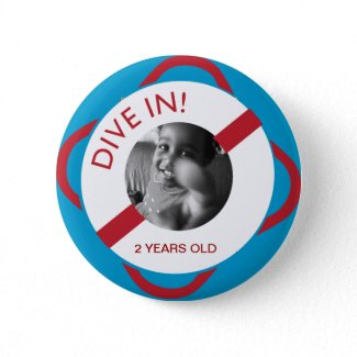 Pool Party Lifesaver button