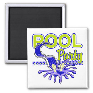 Pool Party Magnet