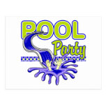 Pool Party Post Card