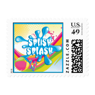 Pool Party Postage