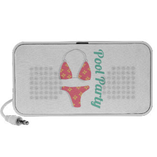 Pool Party Travelling Speaker