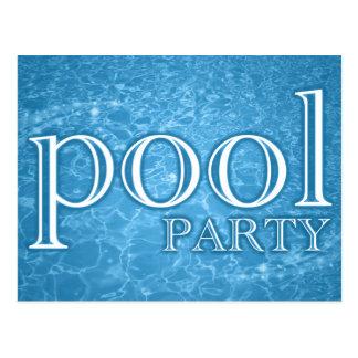 pool party : starshine postcard