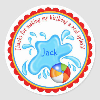 Pool Party  Stickers