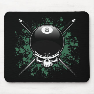 Pool Pirate 1 Mouse Pad