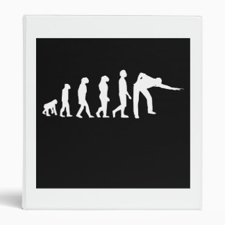 Pool Player Evolution Vinyl Binders