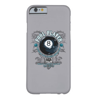 Pool Player Filigree 8-Ball Barely There iPhone 6 Case