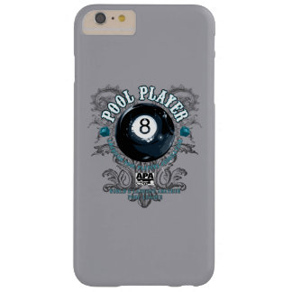 Pool Player Filigree 8-Ball Barely There iPhone 6 Plus Case