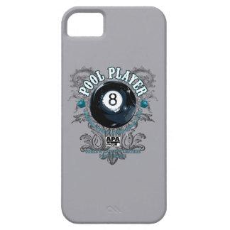 Pool Player Filigree 8-Ball iPhone SE/5/5s Case