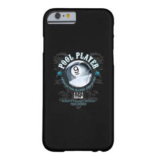 Pool Player Filigree 9-Ball Barely There iPhone 6 Case