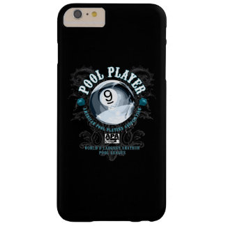 Pool Player Filigree 9-Ball Barely There iPhone 6 Plus Case