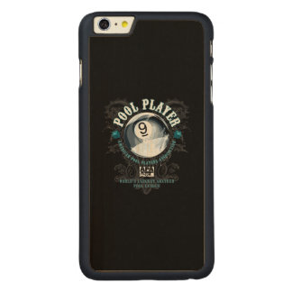 Pool Player Filigree 9-Ball Carved® Maple iPhone 6 Plus Slim Case