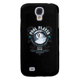 Pool Player Filigree 9-Ball Samsung Galaxy S4 Case
