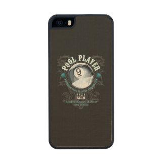 Pool Player Filigree 9-Ball Wood iPhone SE/5/5s Case