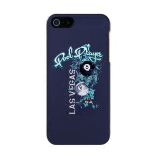 Pool Player Filigree Metallic Phone Case For iPhone SE/5/5s
