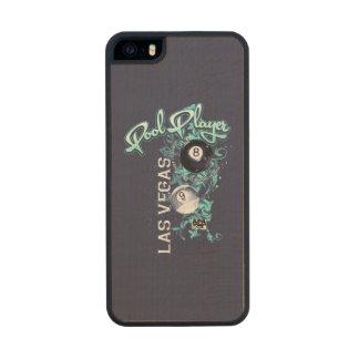 Pool Player Filigree Wood iPhone SE/5/5s Case