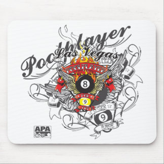 Pool Player For Life Mouse Pad