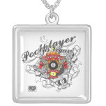 Pool Player For Life Necklace