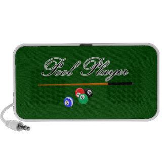 Pool Player Speakers