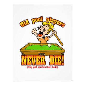 Pool Players Custom Flyer