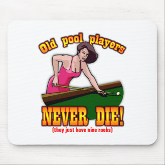 Pool Players Mouse Pad