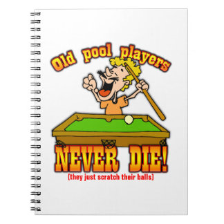 Pool Players Journals