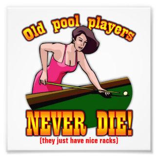 Pool Players Photograph