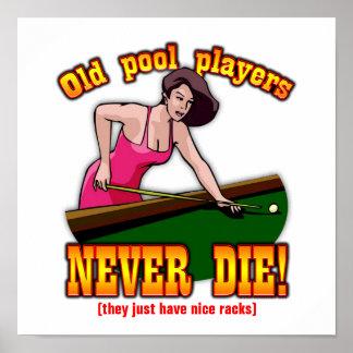 Pool Players Print