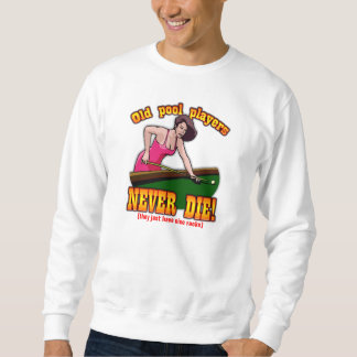 Pool Players Pullover Sweatshirt