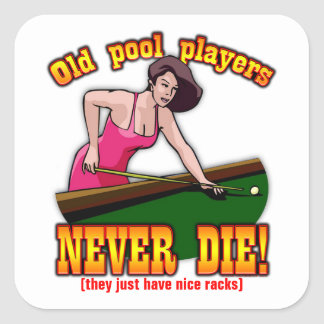 Pool Players Sticker