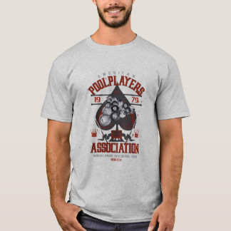 Pool Rack with Spade T-Shirt