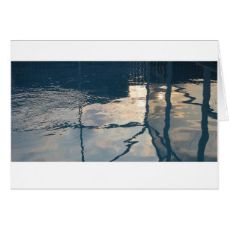 Pool Reflections Card