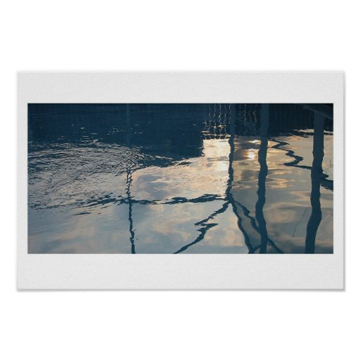 Pool Reflections Poster