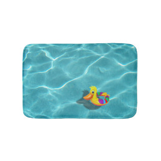 Pool Rubber Ducky PRDX Bathroom Mat