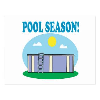 Pool Season Postcard