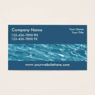 Pool service business cards templates zazzle pool service business cards colourmoves Choice Image