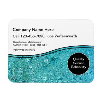 Pool Service Magnets Magnet