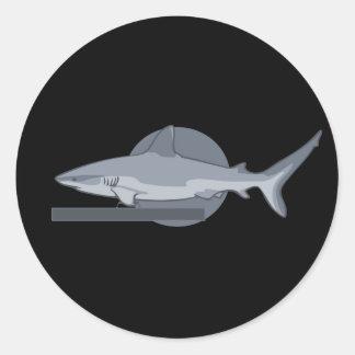 Pool Shark 0316 Classic Round Sticker