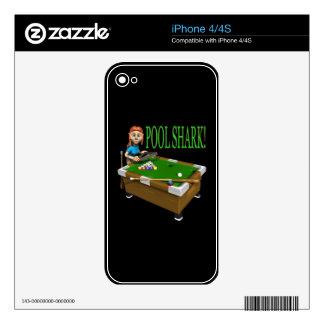 Pool Shark 2 iPhone 4 Skin