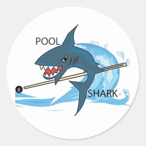Pool Shark 2 Sticker
