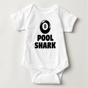 fd2375513a47 Baby Pool Shark Onesies   Bodysuits