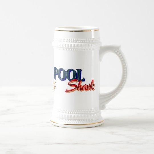 Pool Shark Beer Stein