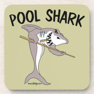 Pool Shark Beverage Coaster