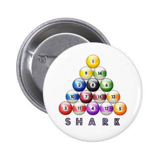 Pool Shark 2 Inch Round Button