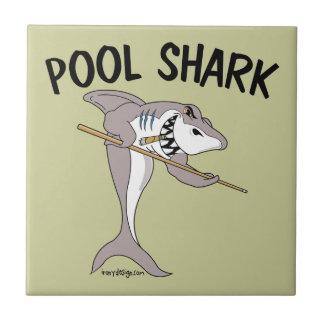 Pool Shark Ceramic Tile