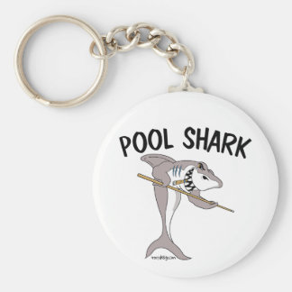 Pool Shark Design Keychain