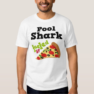 Pool Shark (Funny) Pizza T Shirt