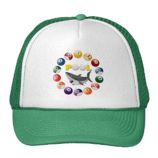 POOL SHARK TRUCKER HATS
